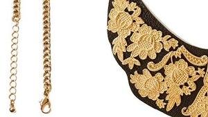Image principale de l'article Il nous faut : Le collier plastron en similicuir