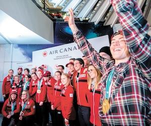 GEN-ARRIVÉS-ATHLETES-OLYMPIQUES-CANADIENS