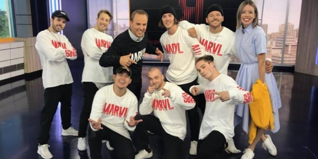 La troupe de danse MARVL
