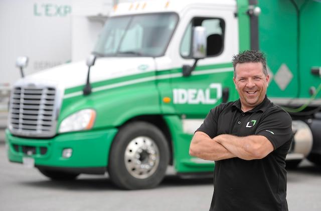 Pierre Fortier camionneur