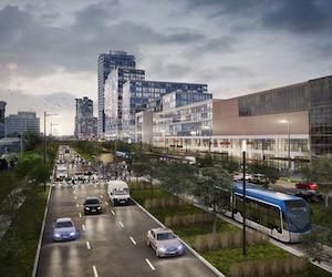 «La Ville de Québec doit être en sérieuse réflexion», a déclaré M.Lessard, réagissant au retrait de la Ville de Lévis du projet de SRB.