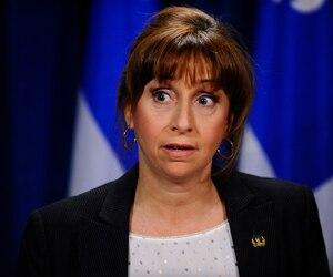 La députée caquiste, Nathalie Roy