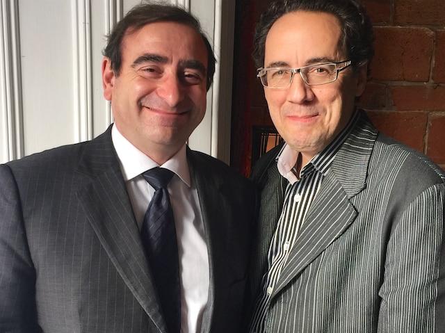 Pascal Chatonne et François Chartier