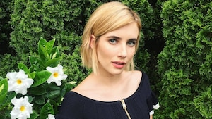 Emma Roberts opte pour une coiffure inattendue
