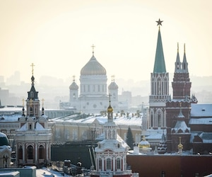 Russie Kremlin Moscou