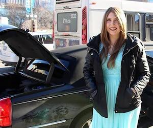 Kara Larsen accepte sa mort prochaine et a commencé à réaliser une liste de souhaits, dont une promenade en limousine et un tour d'hélicoptère.