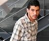 Nizar Ghalmi a quitté le palais de justice en pleine audience, sans préavis. Il est revenu 15 minutes plus tard, sans rien dire.