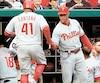 Les gérants du baseball majeur, comme Gabe Kapler des Phillies de Philadelphie, ont accès à un grand nombre de statistiques pour faire leur boulot.
