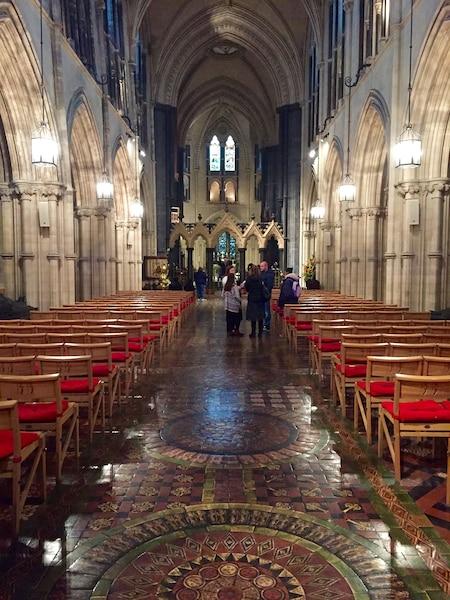 La superbe cathédrale  Christ Church.