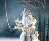 Scène tirée du spectacle Stone présenté à Trois-Rivières par Le Cirque du Soleil.