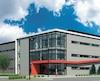 Le futur hangar de Chrono Aviation à l'aéroport de Saint-Hubert.