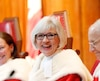 Chief Justice Beverley McLachlin takes part in a ceremony at the Supreme Court of Canada in Ottawa