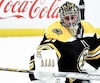 Jaroslav Halak n'a pas encore eu l'occasion de défendre le filet des Bruins durant les présentes séries éliminatoires.