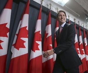 Le premier ministre désigné, Justin Trudeau