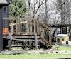 La résidence de Granby où est décédée tragiquement lafillette de 7 ans.