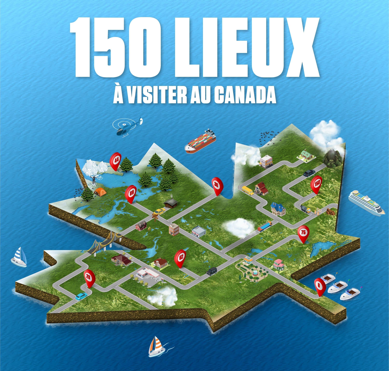 150 Lieux Visiter Au Canada
