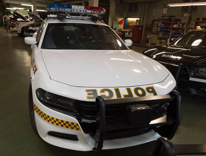 Sûreté du Québec : nouveau design pour les voitures de patrouille