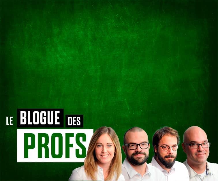 Le blogue des profs