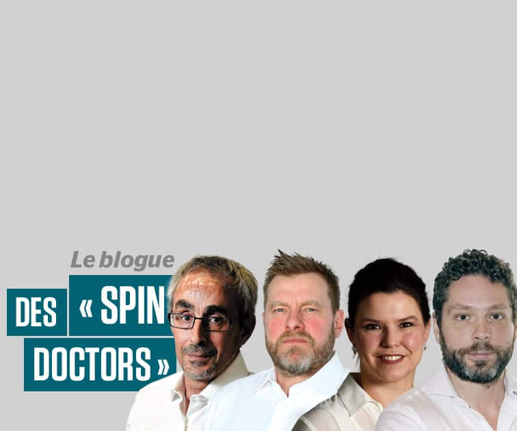 Le blogue des « spin doctors »