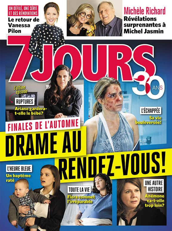 Couverture du magazine 7 Jours