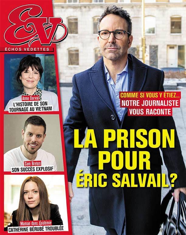 Couverture du magazine Échos Vedettes