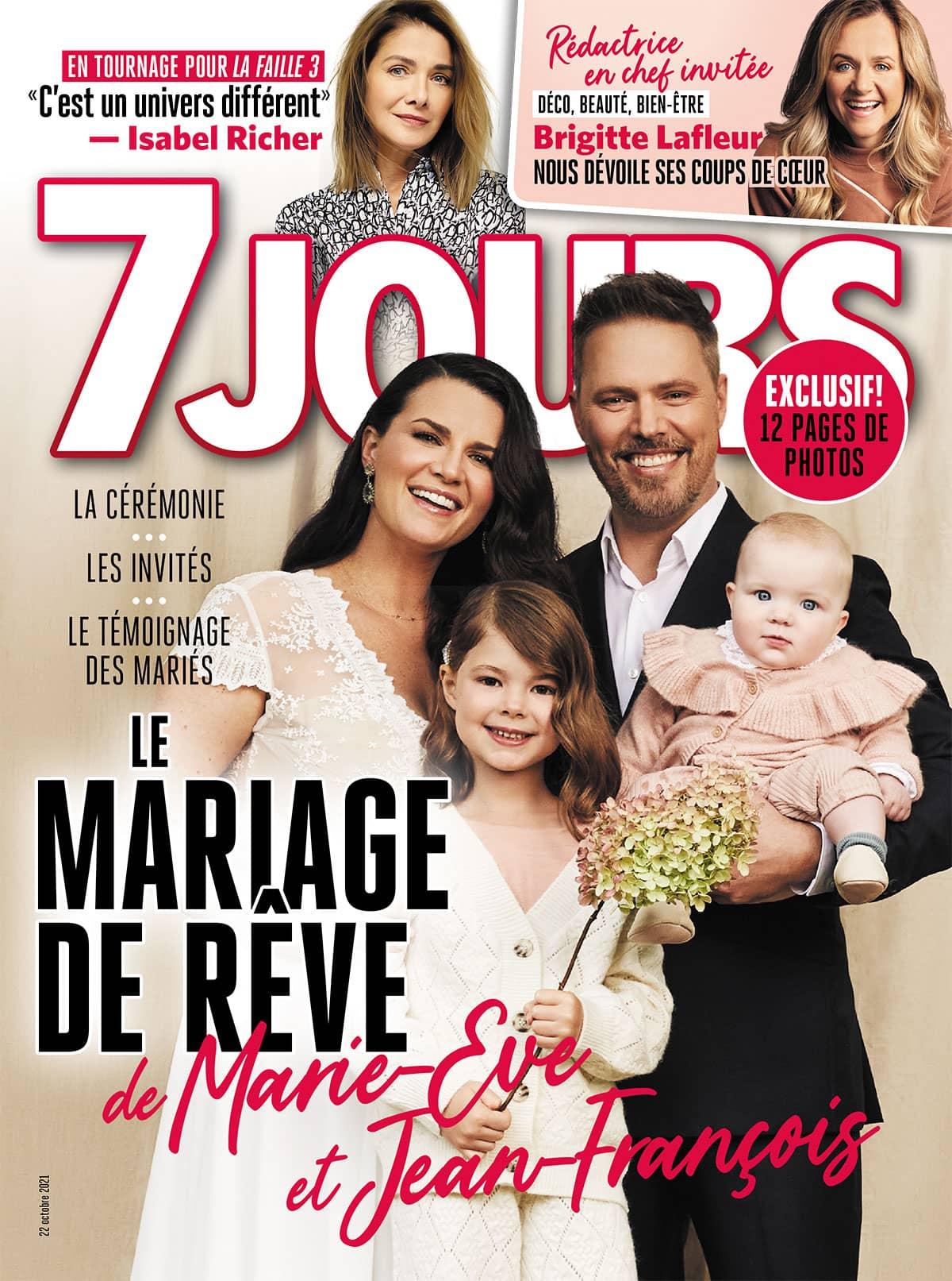 Couverture du magazine 7Jours