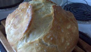 pain maison sans petrissage