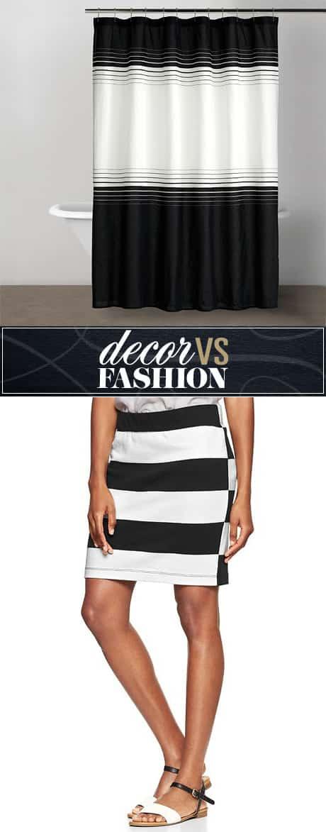 decor-fashion-black-white-shower-curtain-skirt