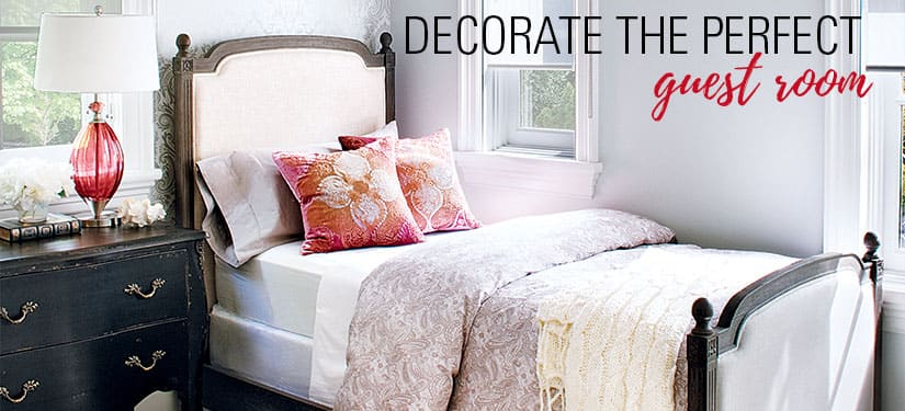 Style at Home Holiday Hostess Guide: Decorate the perfect guest room