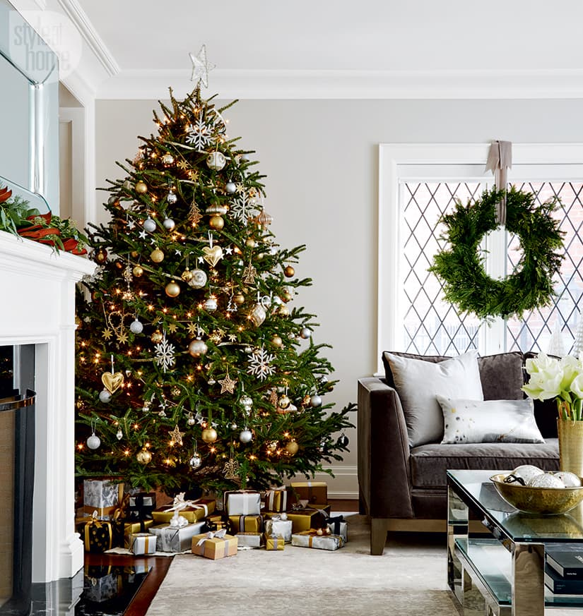 Chic and sophisticated holiday decor