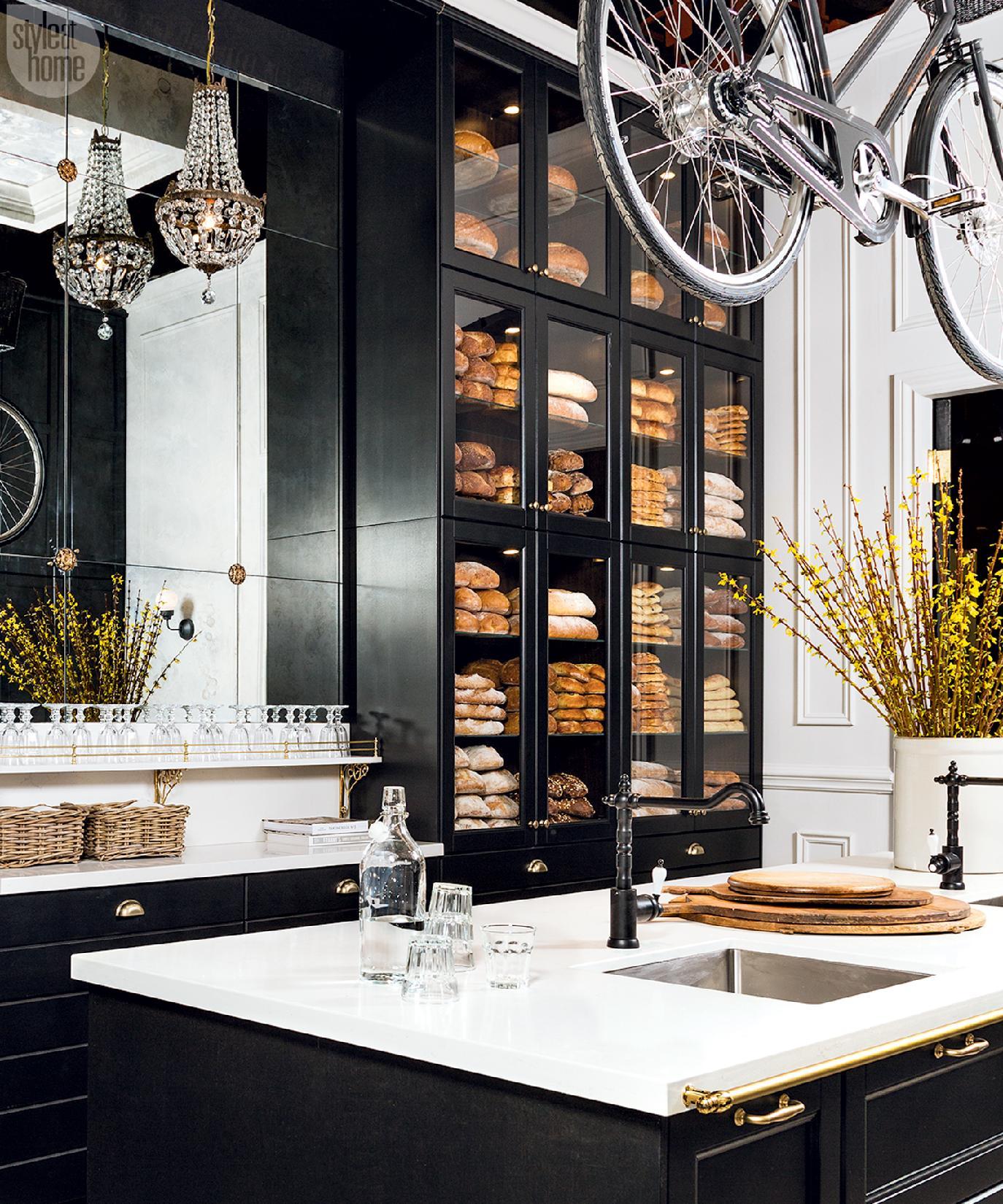 Kitchen Design Classic Parisian Charm Style At Home