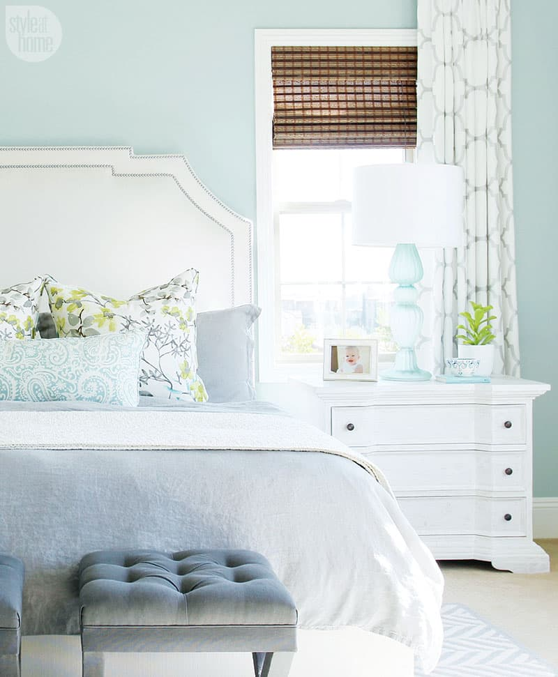 Designer Shea McGee shares her top tips for adding coastal flair to your bedroom