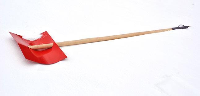 Firn-shovel