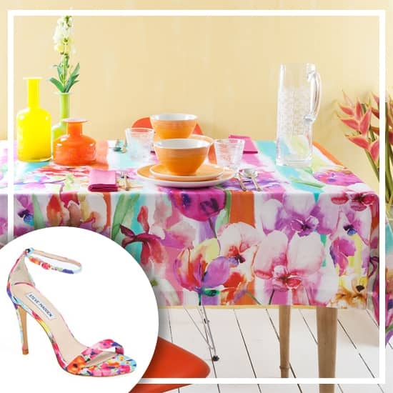 shoe-decor-floral-tablecloth.jpg
