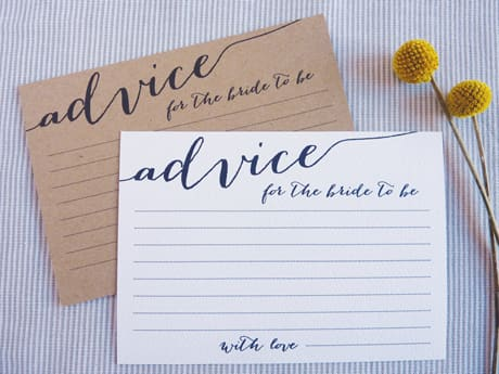 bridal-shower-decor-advice-cards