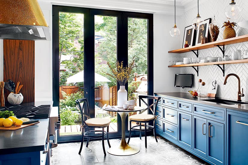 A Parisian Bistro Inspired Kitchen Style At Home
