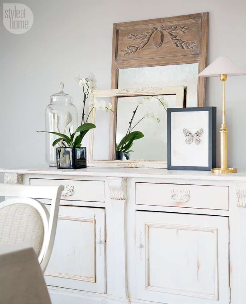 Add interest and style to your space by layering your favourite decor accessories.