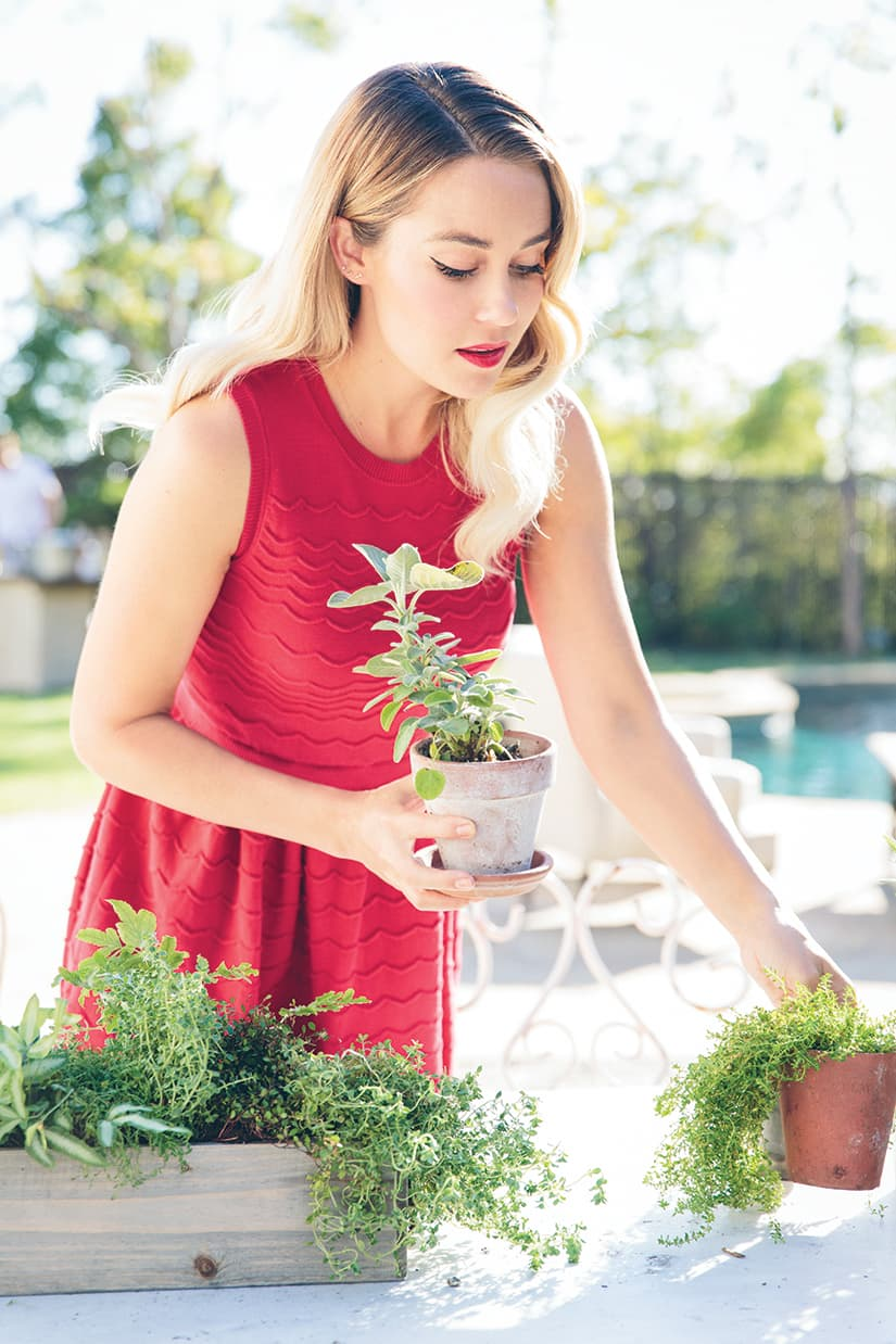 Lauren Conrad shares tips on throwing a dreamy outdoor event