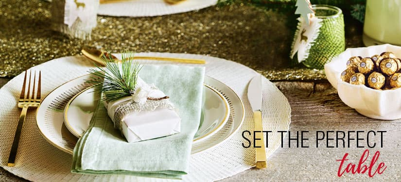 Style at Home Holiday Hostess Guide: Set the perfect table