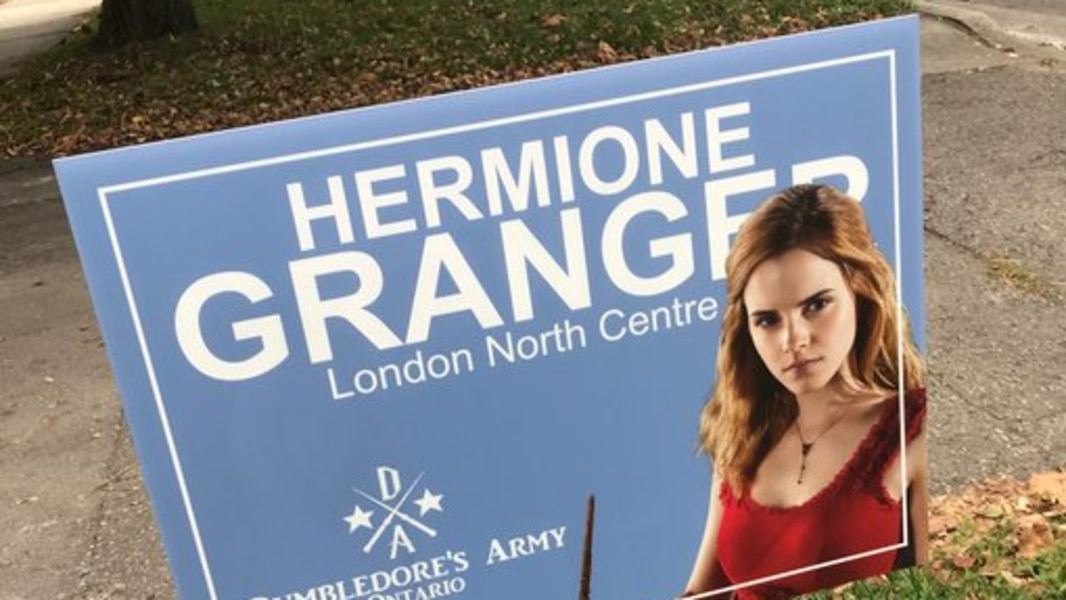 Harry Potter promet une campagne magique en Ontario