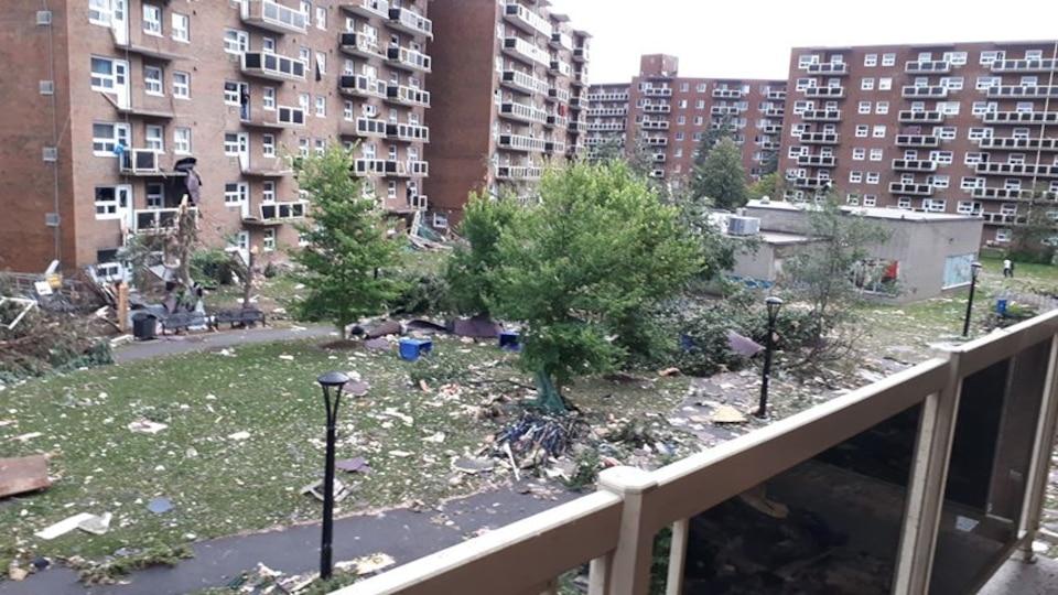 Une tornade cause d\'importants dégâts à Gatineau | TVA Nouvelles