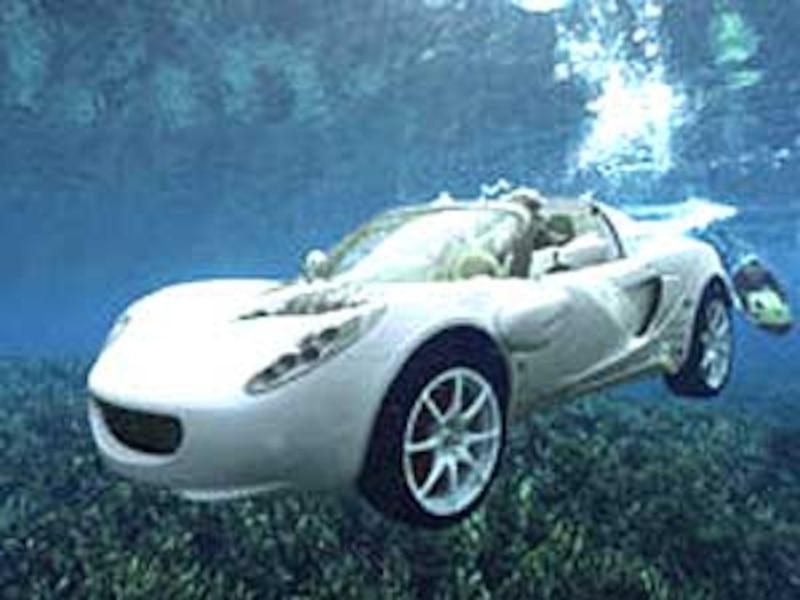 une voiture sport qui va sous l eau tva nouvelles. Black Bedroom Furniture Sets. Home Design Ideas