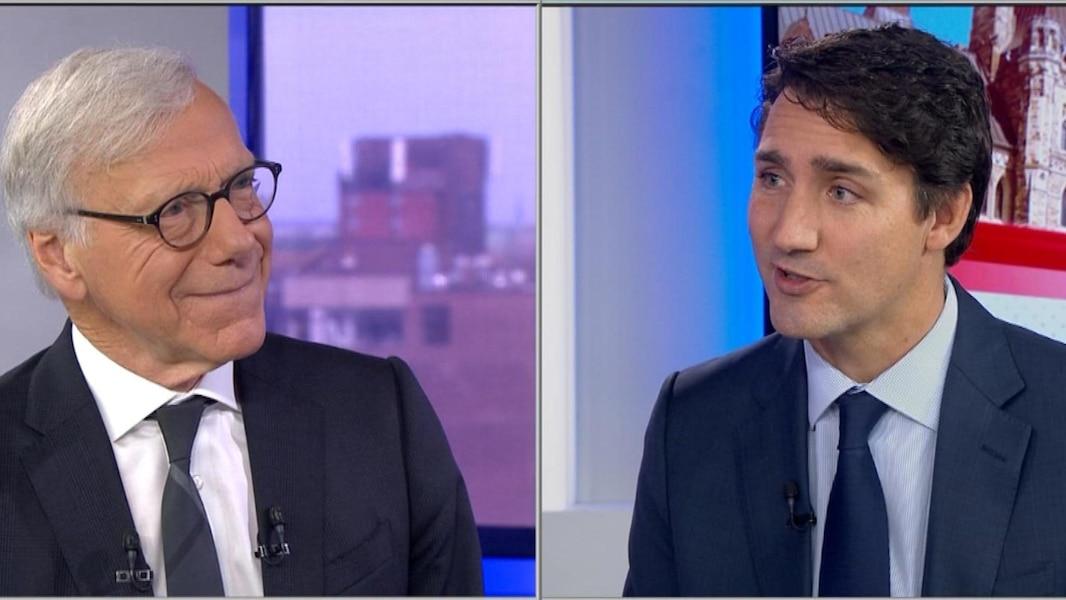 Le chef libéral Justin Trudeau répond à nos questions