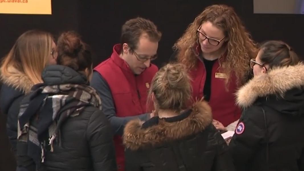 Les employ s invitent les futurs tudiants s inscrire - Journee porte ouverte universite laval ...