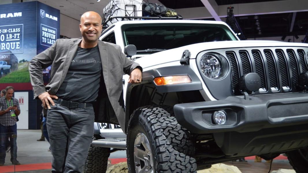 un qu b cois derri re le design du nouveau jeep wrangler tva nouvelles. Black Bedroom Furniture Sets. Home Design Ideas