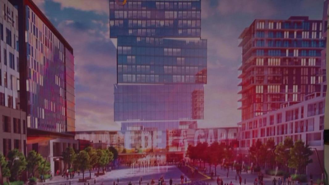 L ancien h pital de montr al pour enfants transform en immense projet immobilier tva nouvelles - Appartement moderne ancien hopital ...