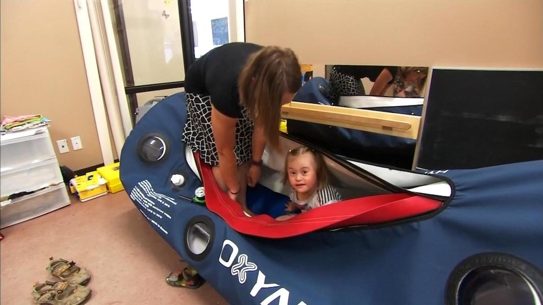 Des Chambres Hyperbares Pour Les Enfants Trisomiques Tva Nouvelles