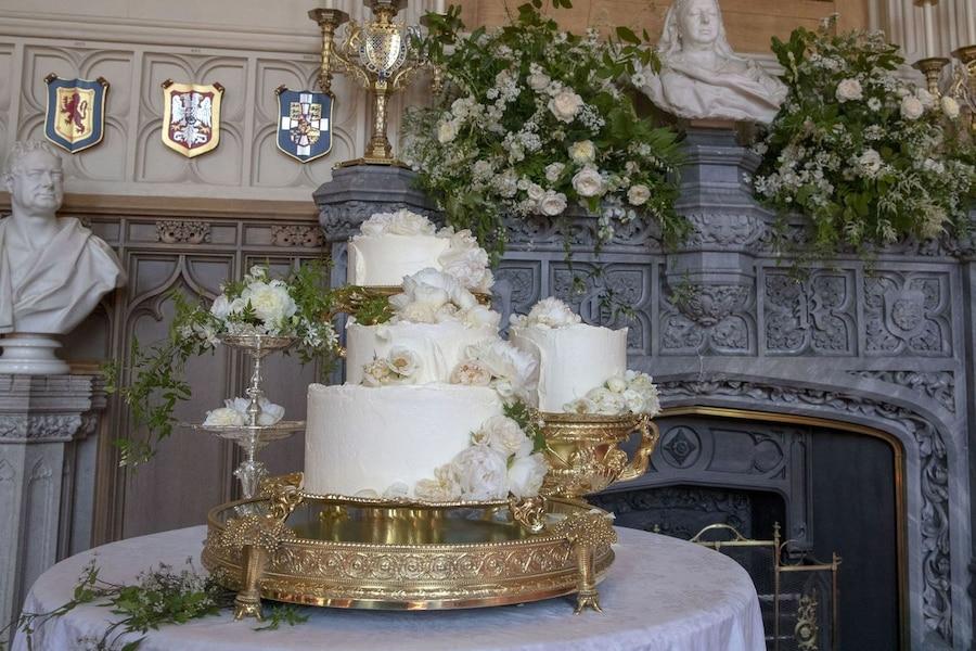 Le Gâteau Du Mariage Royal Dévoilé Tva Nouvelles
