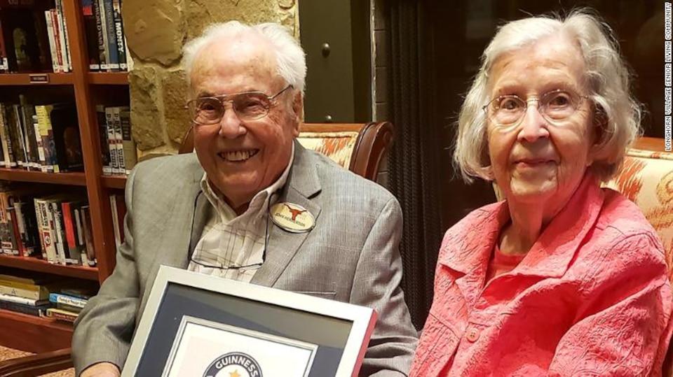 Voici le couple le plus âgé au monde, selon Guinness World Records.