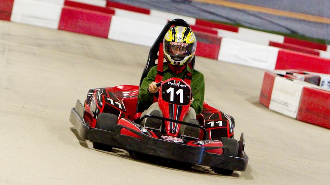 70 personnes intoxiqu es dans un centre de karting for Karting interieur